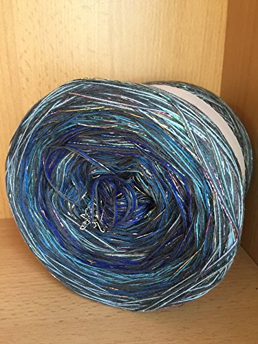 Farbverlaufsgarn Bobbel Wolle Häkeln 200 Gramm Farbe 476 Amazonde