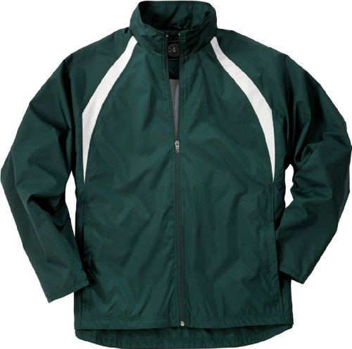 Boy's TeamPro Warm-up Jacket from Charles River Apparel (Jacket Polyester Softex)