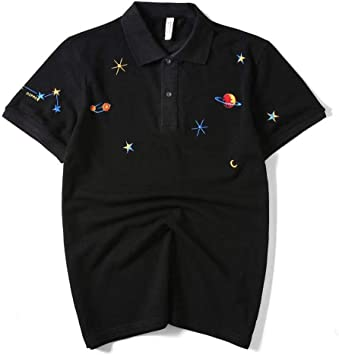 Good dress Camiseta de Hombre Camiseta Deportiva de Manga Corta Ropa Casual de Verano Solapa Bordada Camisa de Polo Camiseta de Manga Larga Suelta Camiseta de Manga Cortanegro, XL: Amazon.es: Bricolaje y