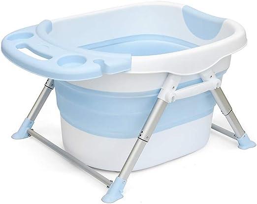 Fenfen-bathtub Tina de baño Plegable para niños, bebés recién ...