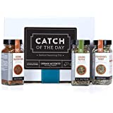 Urban Accents CATCH OF THE DAY, Seafood Spices And Seasoning Gift Set (Set of 3) - Gourmet Gift For A Fisherman. Perfect for Weddings, Housewarmings or Any Occasion.