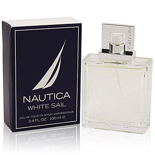 Nautica White Sail for Men by Nautica 3.4oz 100ml EDT Spray -