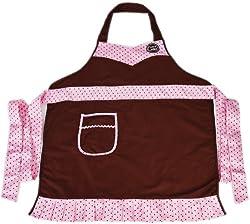 Provo Craft Cricut Cake Apron: Adult Size Pink & Brown
