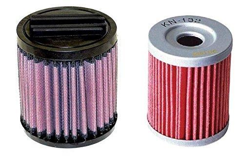 K&N Air Filter + Oil Filter for ATV Arctic Cat 250 300 2x4 4x4 AC-3098 KN-132