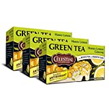Best Celestial Seasonings Ginsengs - Celestial Seasonings Green Tea, Honey Lemon Ginseng, 20 Review