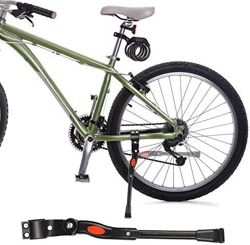 Linkax Pata de Cabra para Bicicleta,Soporte de Bicicleta de Altura Ajustable Adecuado para Bicicleta de Monta/ña Bicicleta de Carretera Bicicleta para Bicicleta de Ni/ños Bicicleta de Plegable