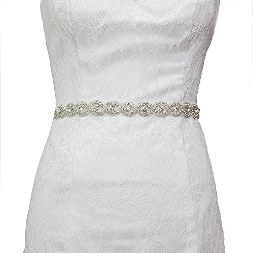 Azaleas Women's Wedding Belt Sashes Bridal Sash Belts for Wedding Dress (Ivory) by azaleas