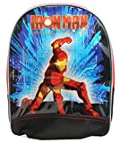 Iron Man Armored Adventures Red/Black Small Size Toddler Backpack (12in)