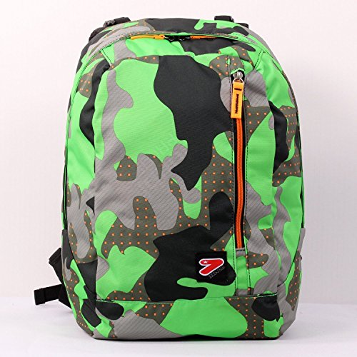 f1805c12f1 2 in 1 Zaino Reversibile SEVEN THE DOUBLE - COLOR CAMOUFLAGE - Verde -  cuffie stereo