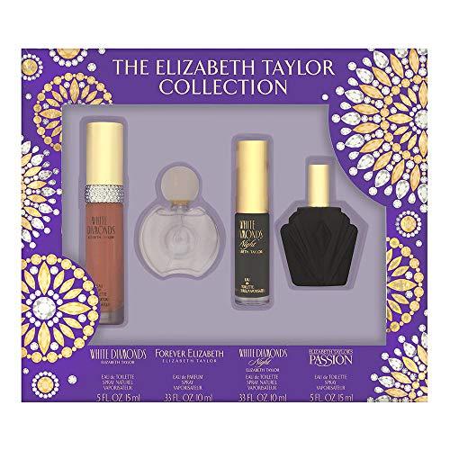 Elizabeth Taylor Fragrance Collection Coffret 4 Piece Set for -