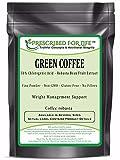 Green Coffee - 50% Chlorogenic Acid - Natural Robusta Bean Fruit Extract Powder (Coffea robusta), 12 oz
