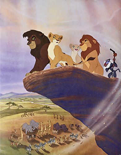 (Disney's - The Lion King II : Simba's Pride Exclusive Commemorative Lithograph - 11x14 Inches - Collectible)