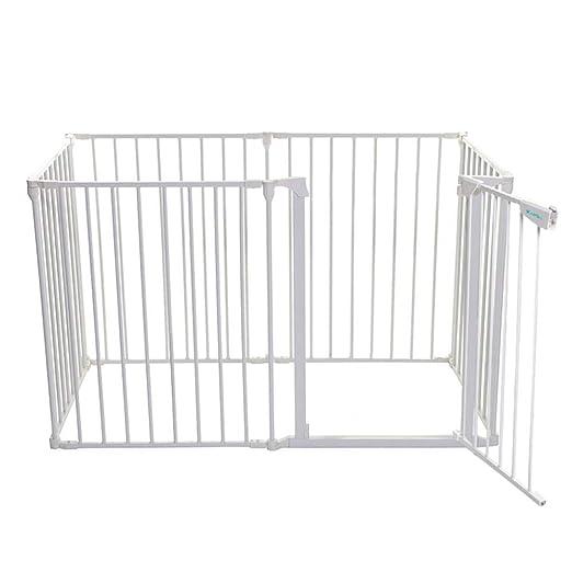 QIANDA Barrera de Seguridad Bebé Puerta de la Escalera Grande ...