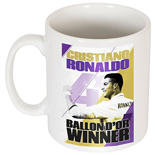 Ronaldo 4 Times Ballon d?Or Winners Mug - One Size