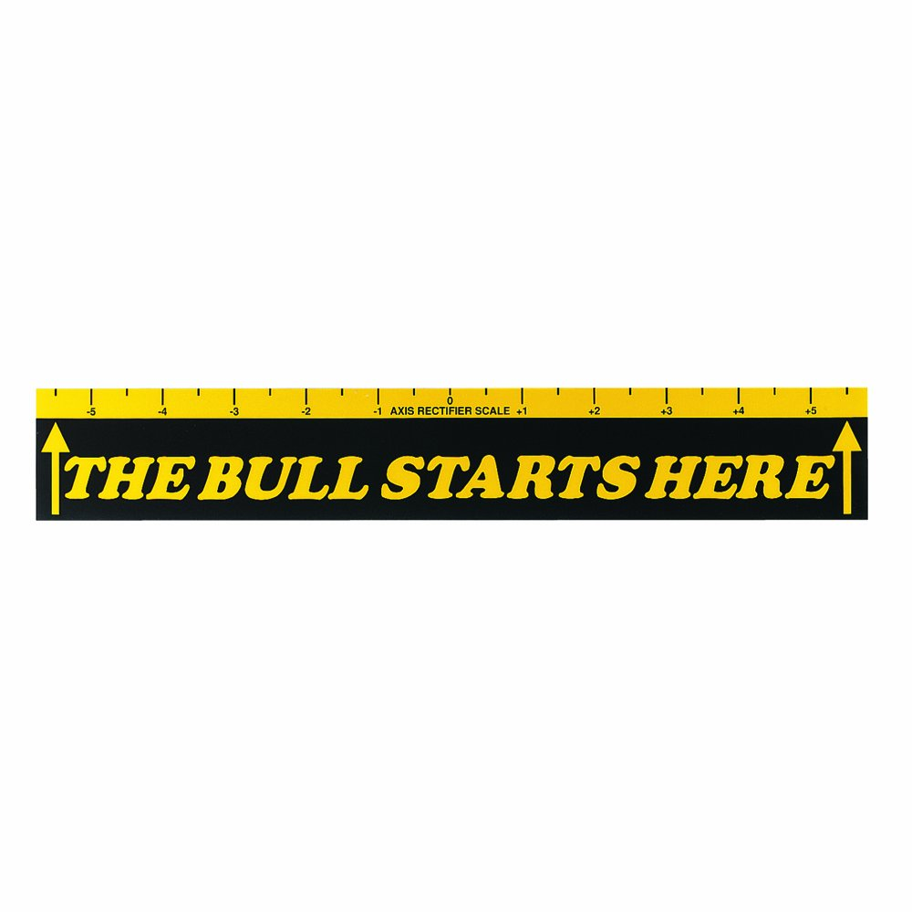 Viper Dart Throw/Toe Line Floor Marker: The Bull Starts Here (Steel/Soft Tip Darts) by Viper by GLD Products