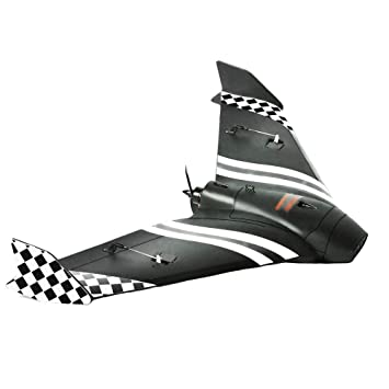 Crazepony FPV Wing 600mm Wingspan RC Planes Adults Sonicmodell Mini FPV  Flying Wing Racing Wing EPP RC Drone Airplane PNP Version 2 Sets Stickers
