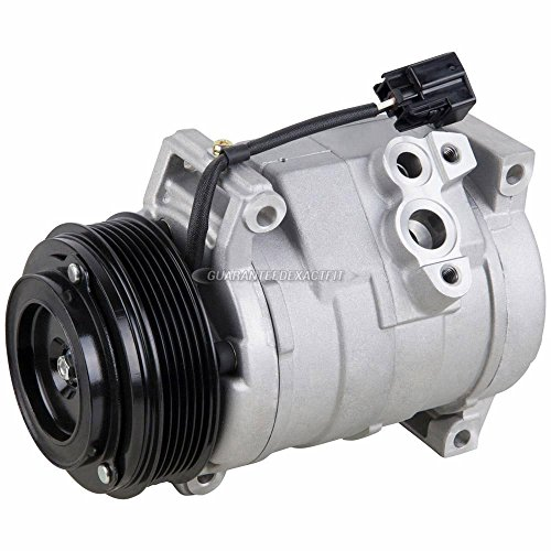 AC Compressor & A/C Clutch For Chevy Traverse GMC Acadia Buick Enclave Saturn Outlook 2007 2008 2009 2010 2011 2012 - BuyAutoParts 60-01979NA NEW ()