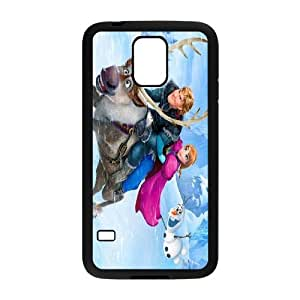 [bestdisigncase] For Samsung Galaxy S5 -Frozen - Let's it go PHONE CASE 1