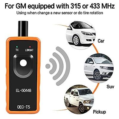 OTUAYAUTO EL-50448 Auto Tire Pressure Monitor Sensor, OEC-T5 TPMS Relearn Activation Tool for GM Series Vehicle 2006-2020: Automotive