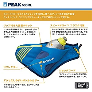 Nathan Peak Waist Pack, Nathan Blue, One Size