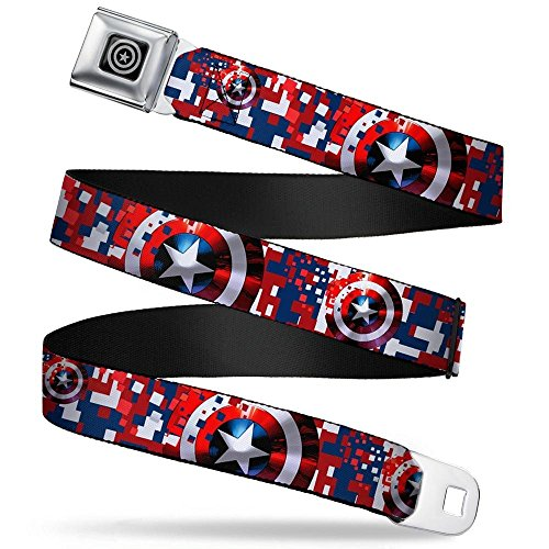 captain america belt with buckle - 2