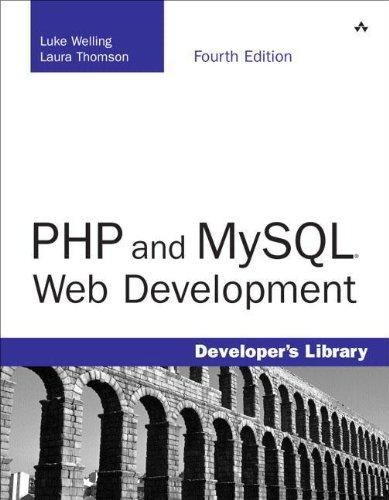 PHP and MySQL Web Development, 4th Edition (Developer's Library Series) ISBN-13 9780672329166