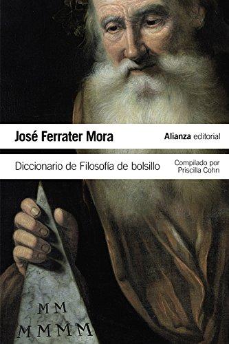 Descargar Libro Diccionario De Filosofía De Bolsillo José Ferrater Mora