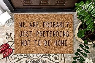 product image for Your Text Here Custom Doormat Personalized Coir Doormat Gift Welcome Doormat Front Door Mat Funny Welcome Mat Funny Doormat Door Mat Housewarming Gift Cute Doormat Custom Doormat Outdoor/Indoor Mat