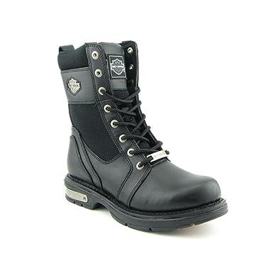 6613c6337f26 Harley-Davidson Men s BALDWIN Biker Boots BLACK 7.5 M