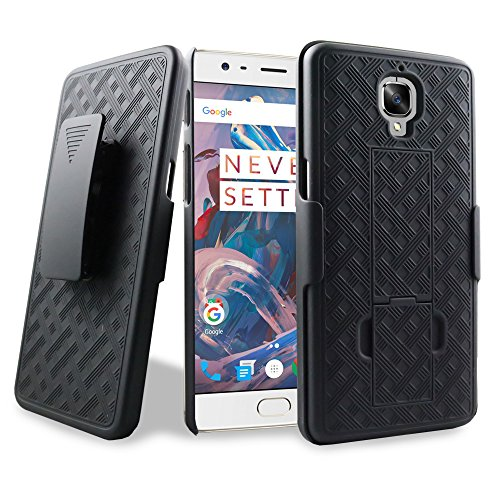 Combo Case with Kick-Stand / Belt Clip for for OnePlus 3T