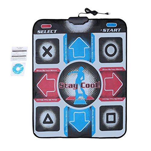 Lovelysunshiny Non-Slip Dancing Step Dance Mat Pad Pads Dancer Blanket to PC with USB by Lovelysunshiny (Image #7)