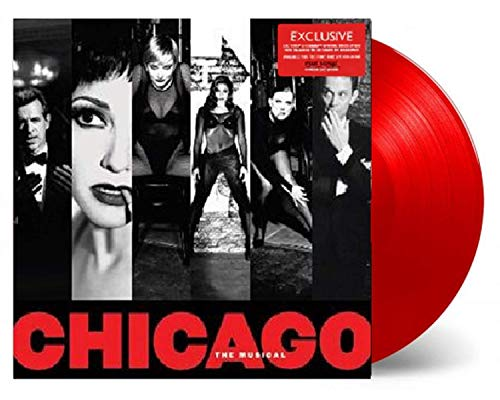 Chicago The Musical - New Broadway Cast Recording Exclusive Edition Red Vinyl LP