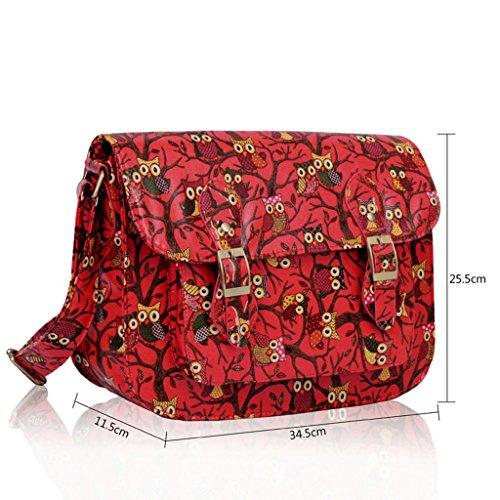 Alta calidad unisex niños niñas escuela Colegio hermoso impreso bolso bolsas de hombro Koralle 2