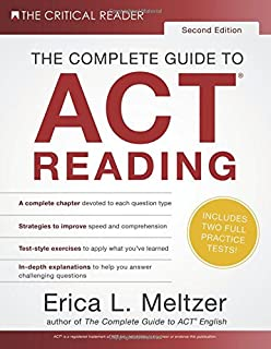 The Complete Guide To Act English 3rd Edition Erica L Meltzer