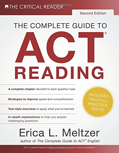 Pdf Test Preparation The Complete Guide to ACT Reading, 2nd Edition