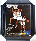 SHAQUILLE SHAQ O'NEAL SIGNED 16x20 CANVAS ROOKIE PHOTO AUTO AUTOGRAPH PSA/DNA UD