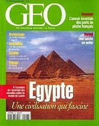 Book's Cover ofGéo [n° 226 décembre 1997] Egypte une civilisation qui fascine