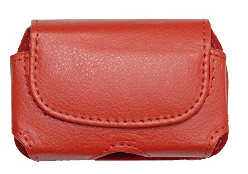 Classic Premium Pouch Case with Belt Clip FOR Medtronic Minimed Insulin Pump (530G /630G /640G /670G/) -SNK Retail packaging (H2/RED)