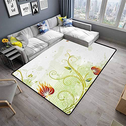 Floral,Bathroom Floor mats 80
