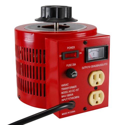 Parts Express 10A Variable Transformer AC Power 0-130 VAC