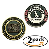 Poker Card Guard Protector 2 Pack Tournament Donkey – Champion of Poker