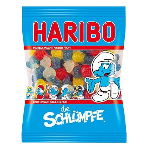 Haribo Smurf (Die Schlumpfe) Gummi Candy, 200g Bag