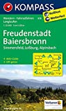 Freudenstadt - Baiersbronn - Simmersfeld - Lossburg - Alpirsbach: Wanderkarte mit Aktiv Guide, Radwegen und Loipen. GPS-genau.1:25000 (KOMPASS-Wanderkarten, Band 878)