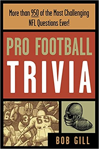 Image result for pro football trivia book
