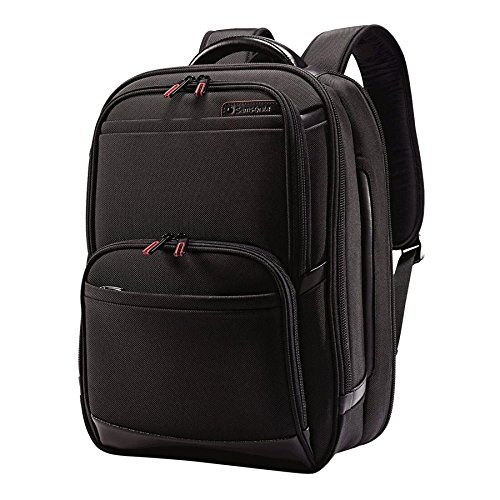 (Samsonite Pro 4 DLX Urban Backpack Pft/TSA, Black)