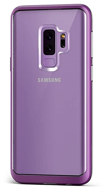 Amazon.com  Galaxy S9 Plus Case    VRS    Transparent Crystal Thin Cover     Clear Slim Fit    Hard Drop Protective Bumper for Samsung Galaxy S9 Plus ... 0cc35db0c9