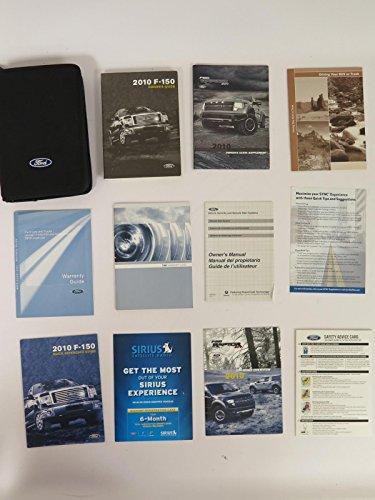 2010 Ford F150 SVT Raptor Owners Manual Portfolio Guide Kit Pkg