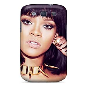 Marycase88 Samsung Galaxy S3 Shock-Absorbing Cell-phone Hard Covers Unique Design High-definition Rihanna Image [gtz2866igMY]