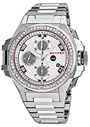 Mens Automatic Chronograph Watch with Diamonds