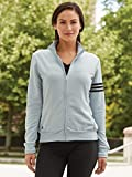 adidas Ladies' 3-Stripes Full Zip Pullover Jacket A191